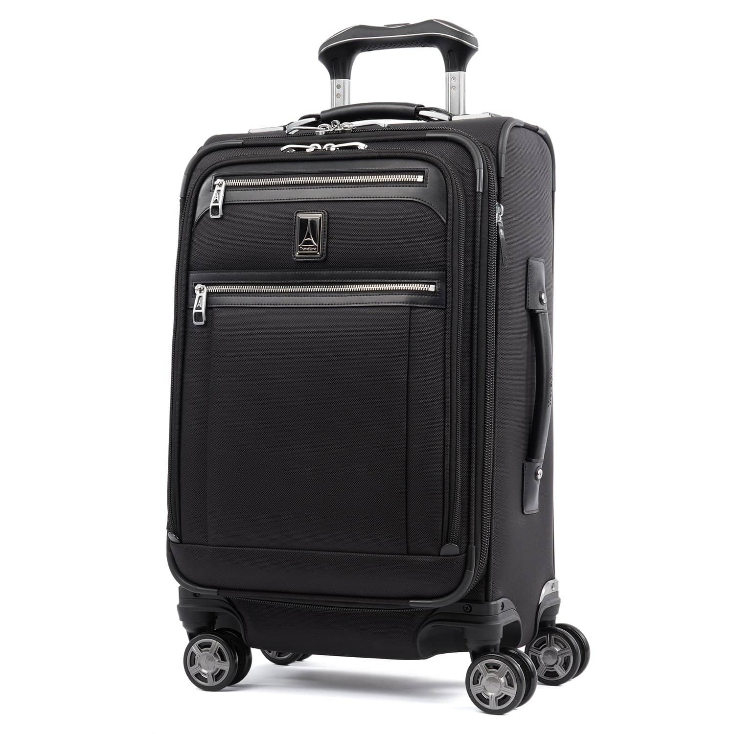 "Travelpro Platinum® Elite 21"" Expandable Carry-on Spinner SHADOW BLACK"