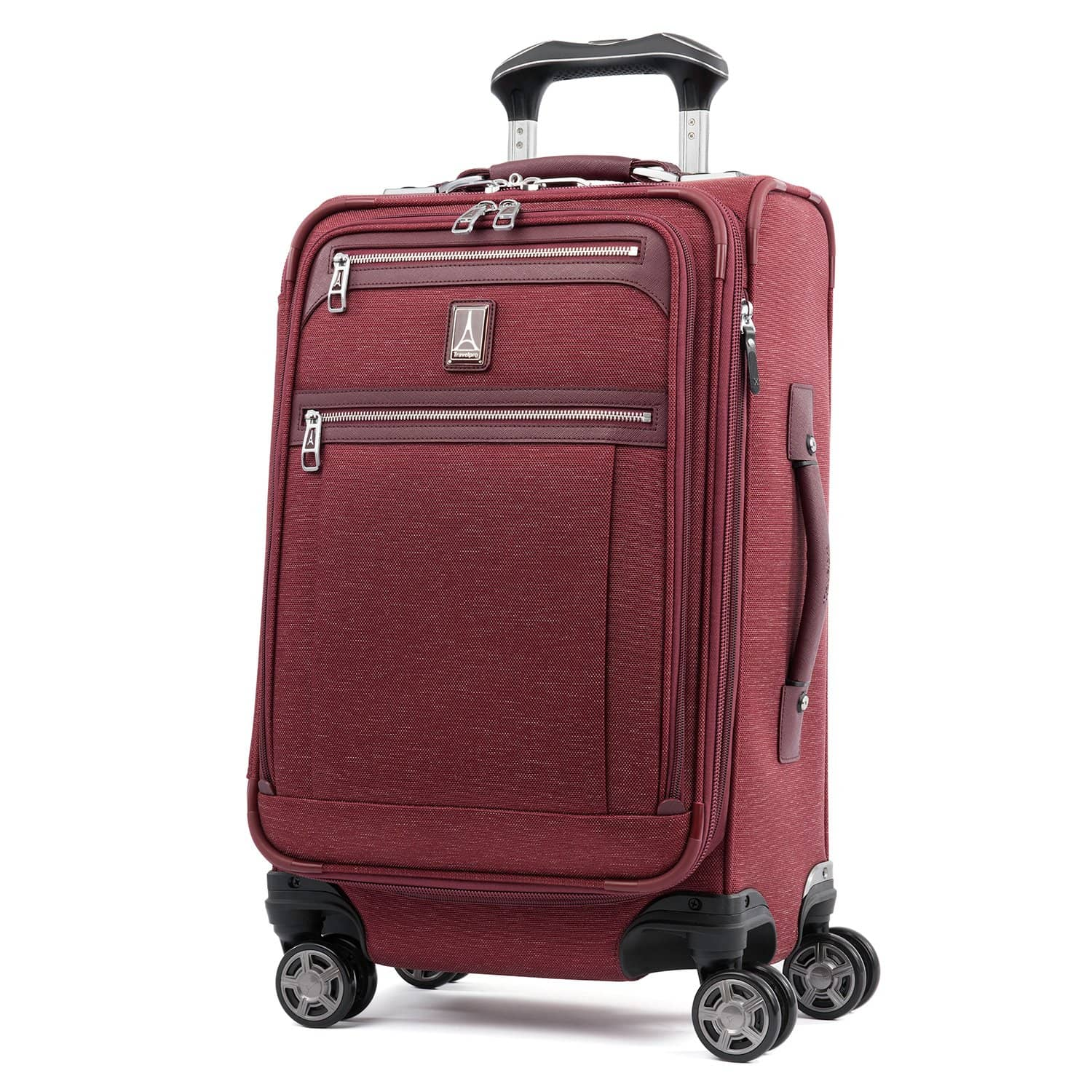 "Travelpro Platinum® Elite 21"" Expandable Carry-on Spinner BORDEAUX"