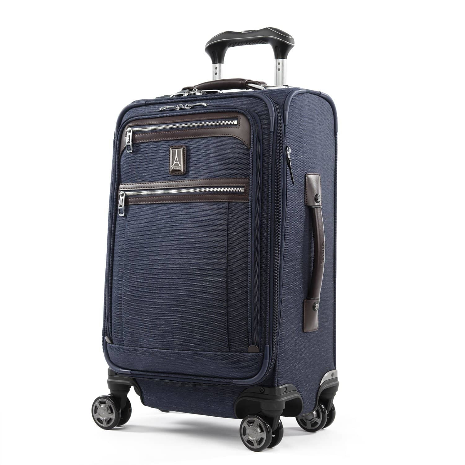 "Travelpro Platinum® Elite 21"" Expandable Carry-on Spinner TRUE NAVY"