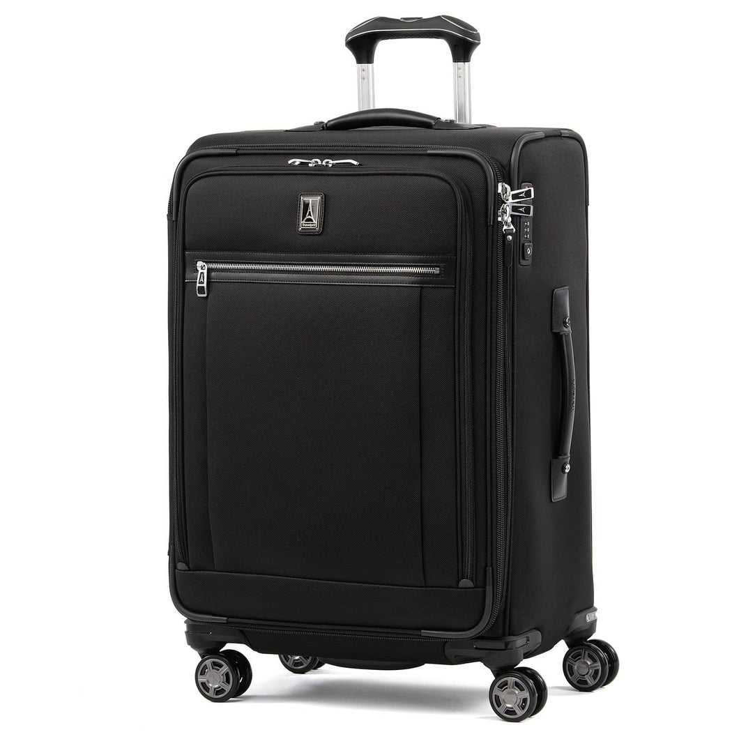 "Travelpro Platinum Elite 20"" Expandable Business Plus Carry-On Spinner, True Navy"