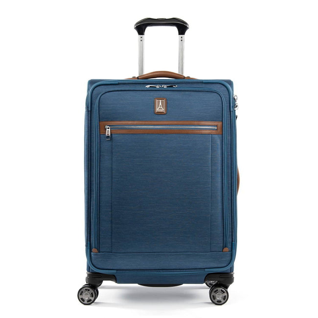 "Travelpro Platinum Elite 25"" Expandable Checked Spinner, Coastal Blue"