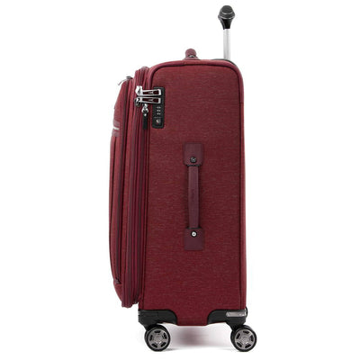 "Travelpro Platinum Elite 25"" Expandable Checked Spinner, Bordeaux"