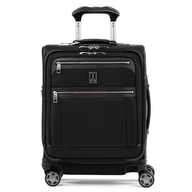 Travelpro Platinum Elite International Expandable Carry-On Spinner, Shadow Black