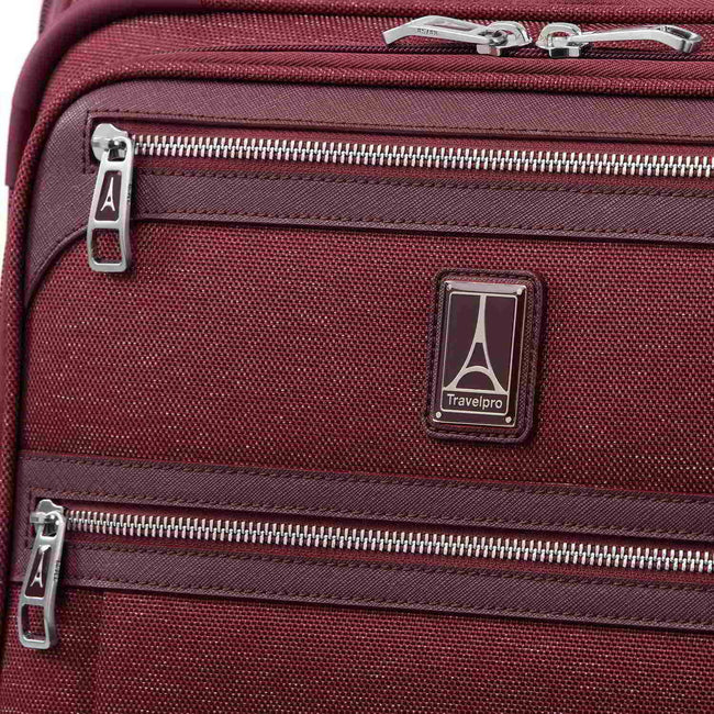Travelpro Platinum Elite International Expandable Carry-On Spinner, Bordeaux