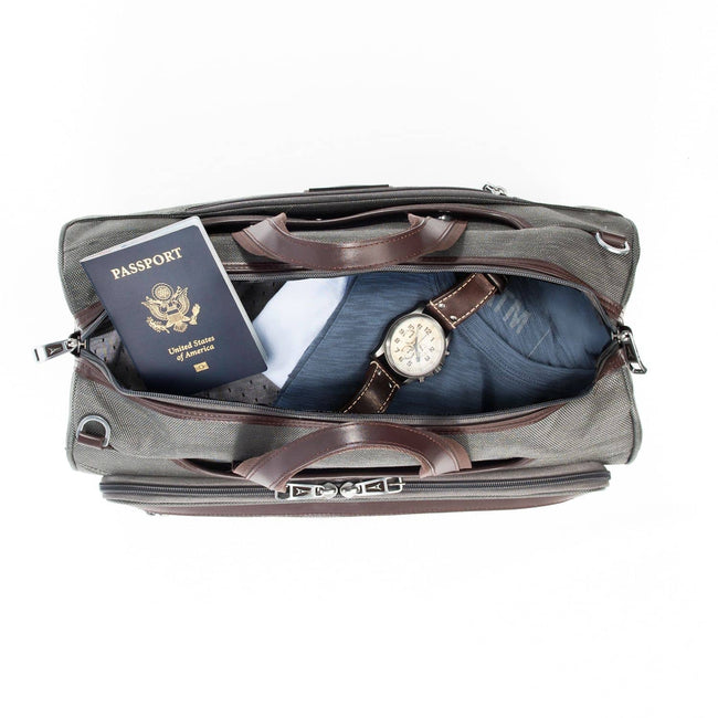 Travelpro Platinum Elite Regional UnderSeat Duffel Bag, Vintage Grey