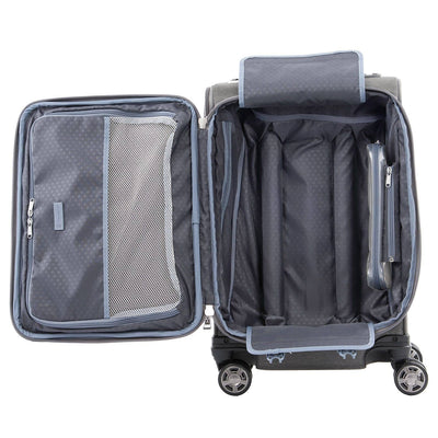 "Travelpro Platinum Elite 20"" Expandable Business Plus Carry-On Spinner, Vintage Grey"