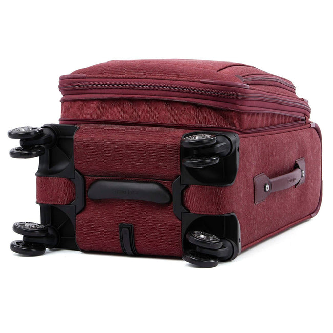 "Travelpro Platinum Elite 20"" Expandable Business Plus Carry-On Spinner, Bordeaux"