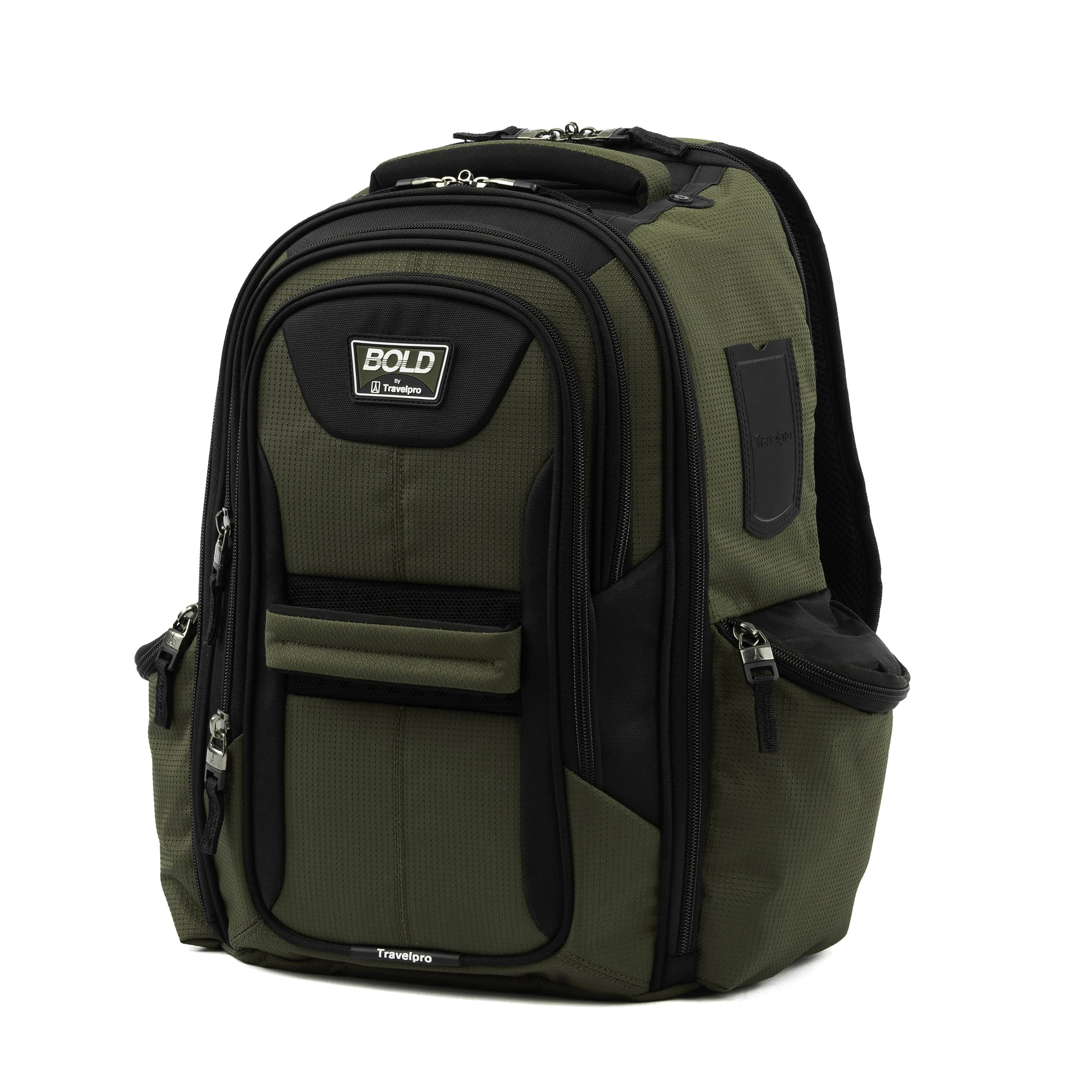Travelpro Bold™ By Travelpro® Computer Backpack OLIVE BLACK