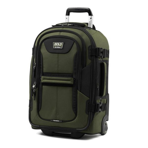 "Travelpro Bold™ By Travelpro® 22"" Expandable Rollaboard OLIVE BLACK"