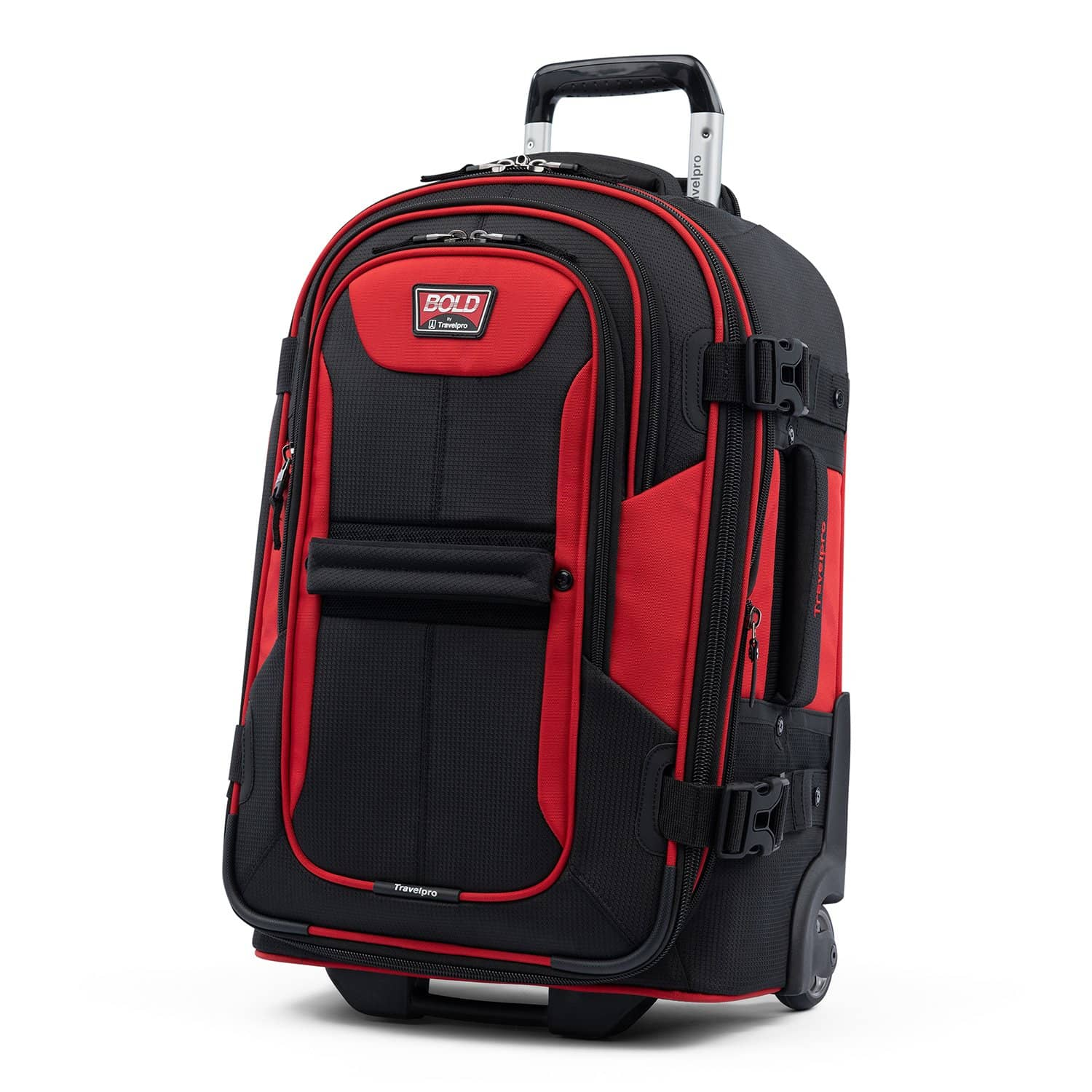 "Travelpro Bold™ By Travelpro® 22"" Expandable Rollaboard RED BLACK"