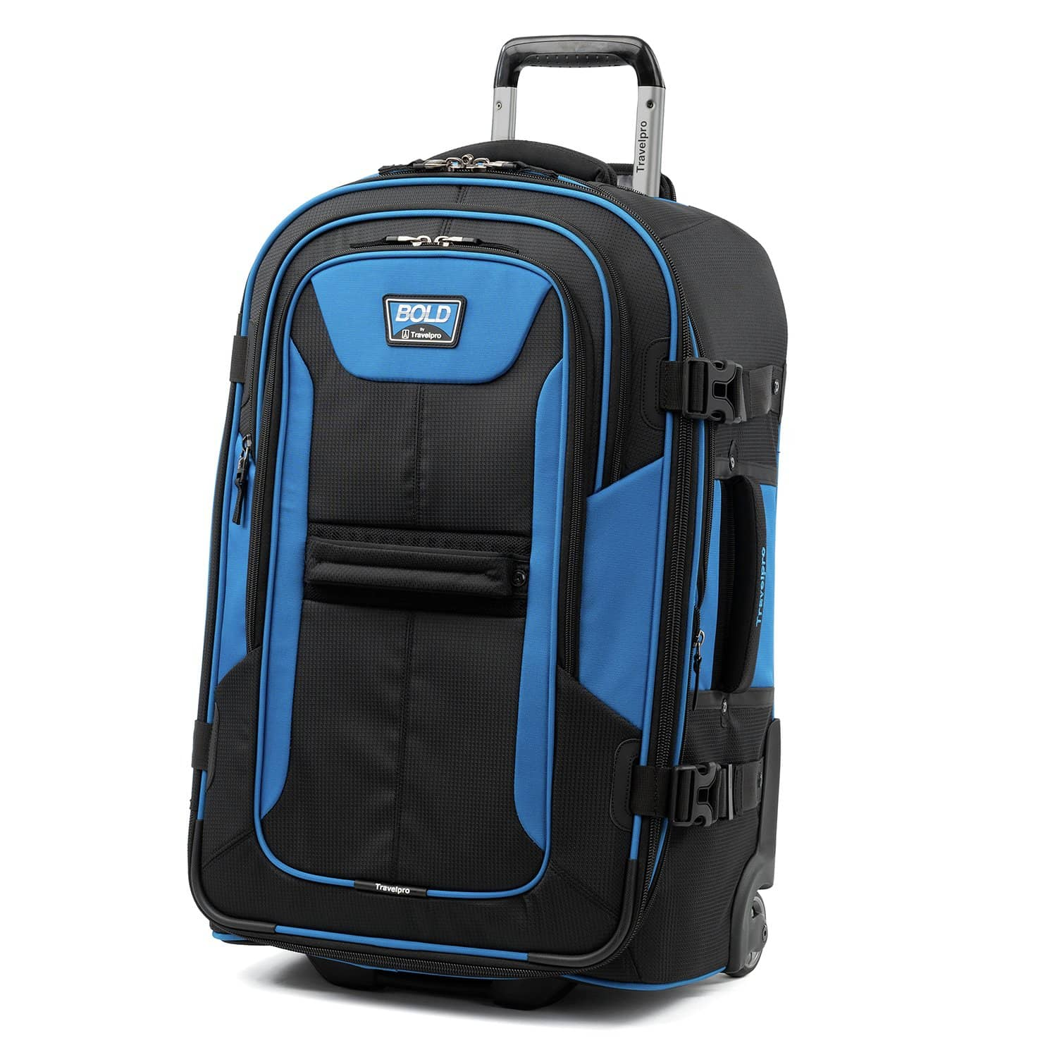 """Travelpro Bold™ By Travelpro® 25"""" Expandable Rollaboard BLUE BLACK"""