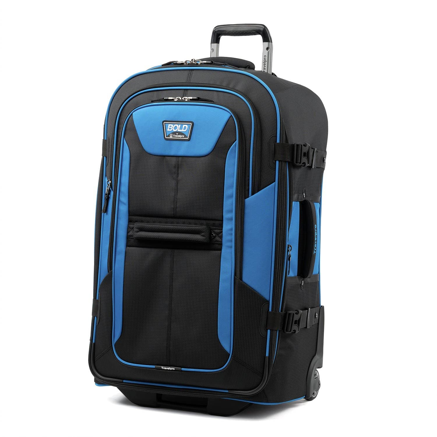"""Travelpro Bold™ By Travelpro® 28"""" Expandable Rollaboard BLUE BLACK"""