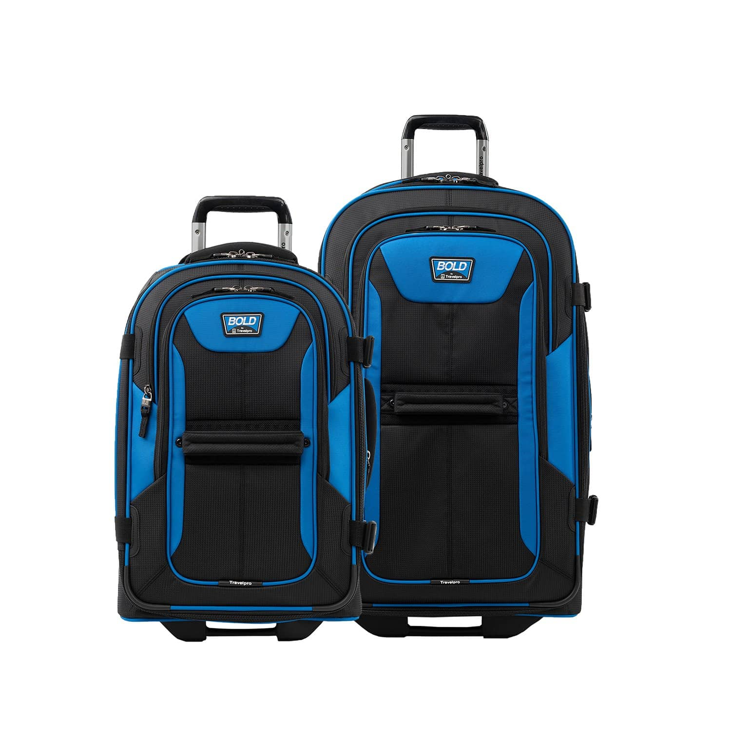 "Travelpro Bold® 22""/28"" Rollaboard Luggage Set BLUE"