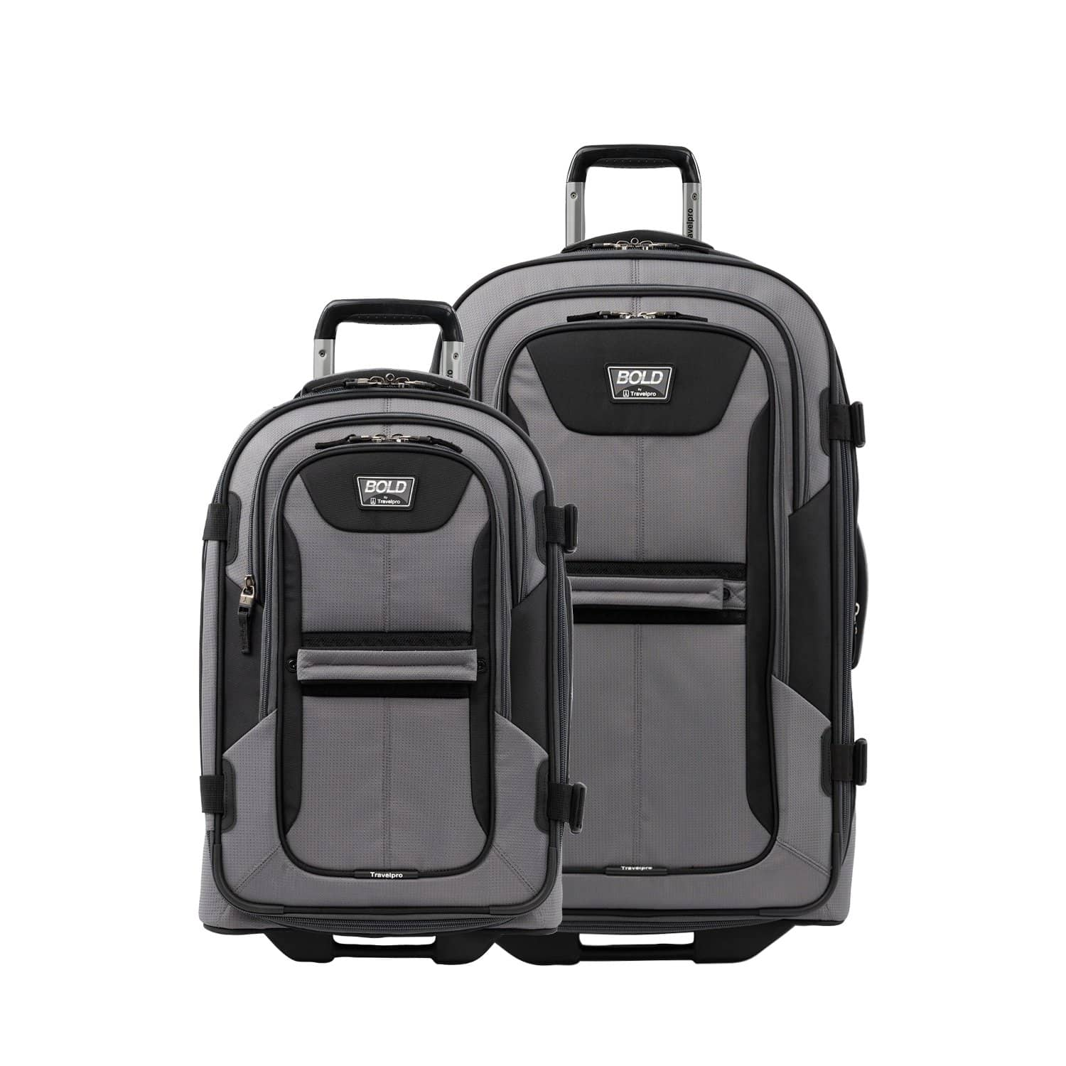 "Travelpro Bold® 22""/28"" Rollaboard Luggage Set GRAY"