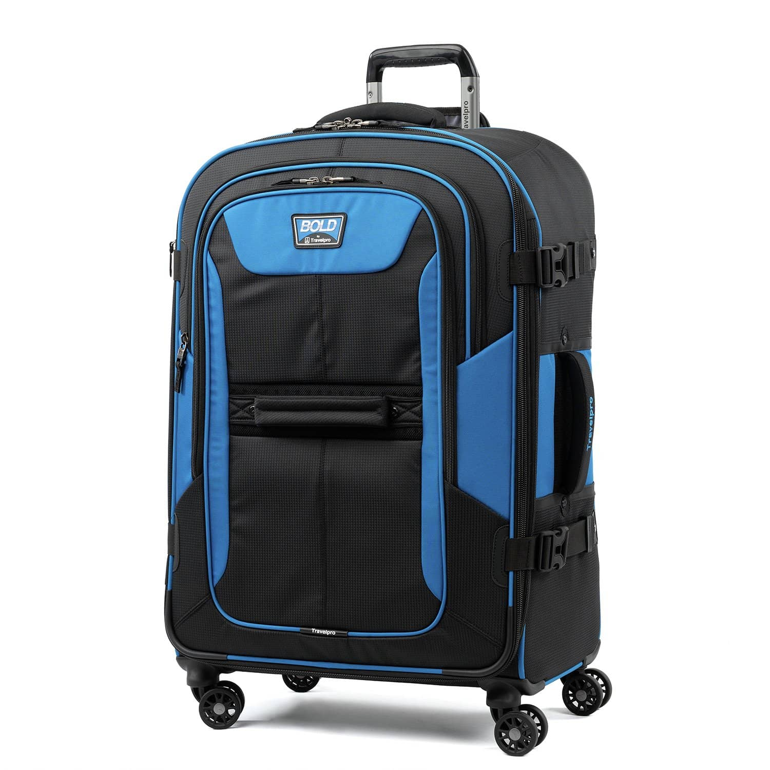 """Travelpro Bold™ By Travelpro® 26"""" Expandable Spinner BLUE BLACK"""