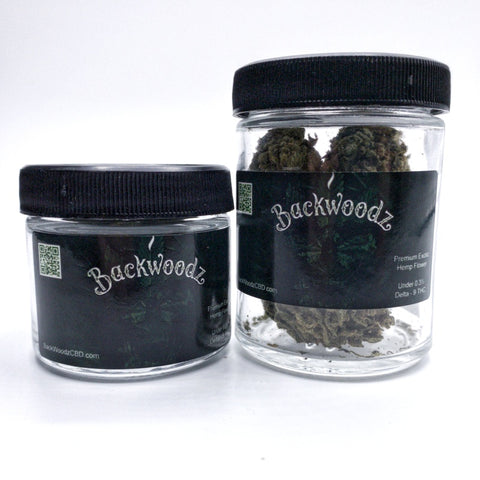 BackWoodz CBD Flower Jars