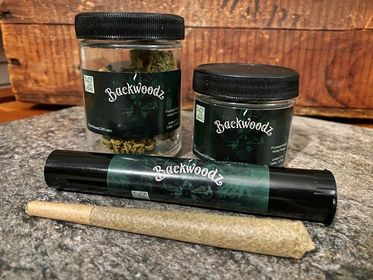 BackWoodz CBD Hemp Flower