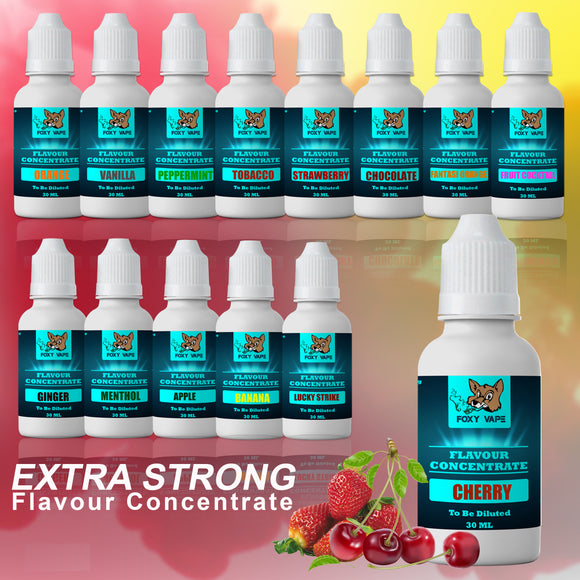 Professional E-Liquid Flavor Concentrates