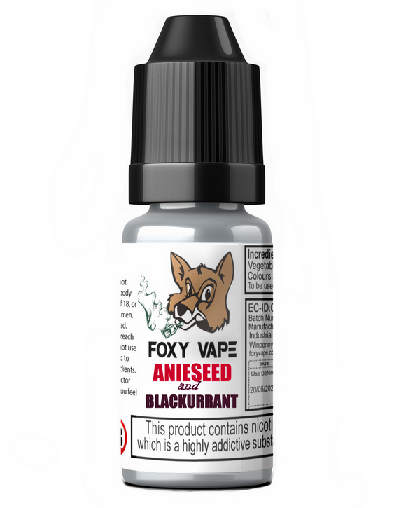 Aniseed and Blackcurrant E-Liquid