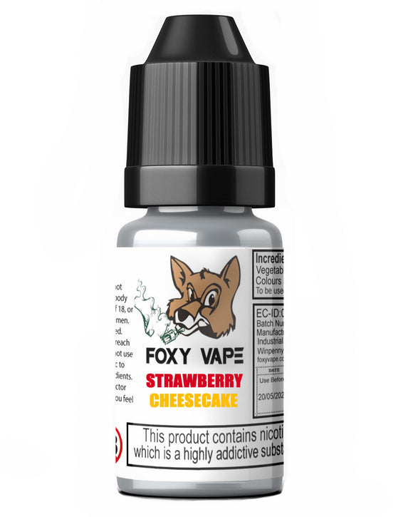 Strawberry Cheesecake E-Liquid