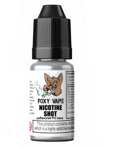 Nicotine Shots 18mg/ml (10ml)