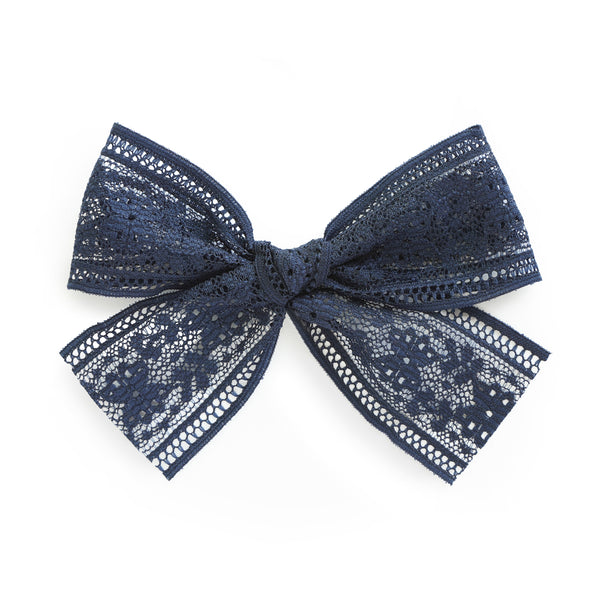 village baby audrey nave lace bow for babies and big girls