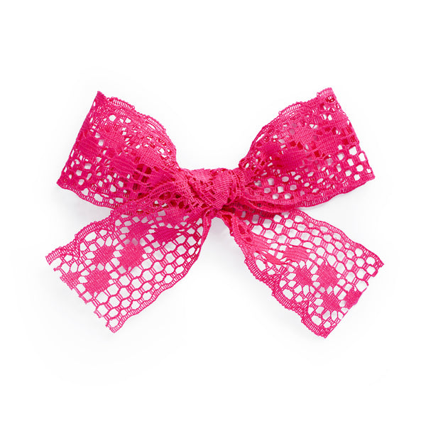 village baby emma fuchsia pink bow for babies and big girls