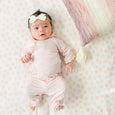 Blush Dottie Swaddle