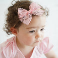 Lace Bow for Babies and Big Girls: Lucy
