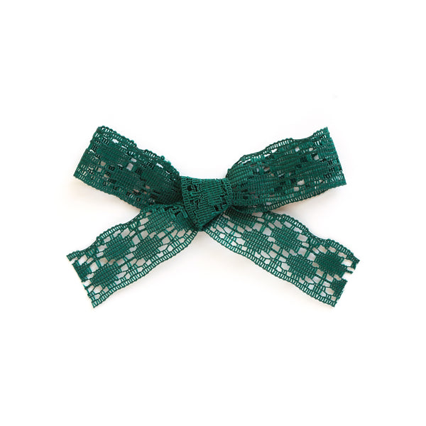 emerald green baby and little girl bow accessory village baby olivia