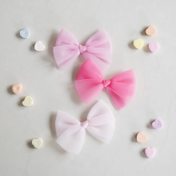 Valentine's Ballet Bow Set: Sweet Heart