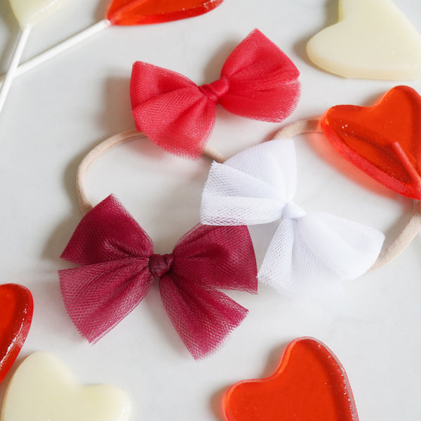 Valentine's Ballet Bow Set: True Love