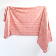 Extra Soft Stretchy Knit Swaddle Blanket: Desert Dots