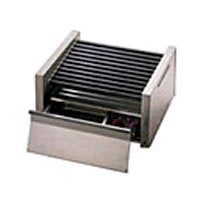 Star Mfg Grill Max 1150-W 30-Hot Dog Grill w/ Bun Drawer