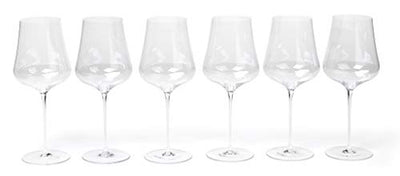 "Gabriel Glas - Set of 24 - Austrian Crystal Wine Glass -""StandArt"" Edition"
