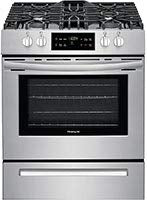 Frigidaire FFGH3051VS  30 Inch Stainless Steel Slide-in Gas Range