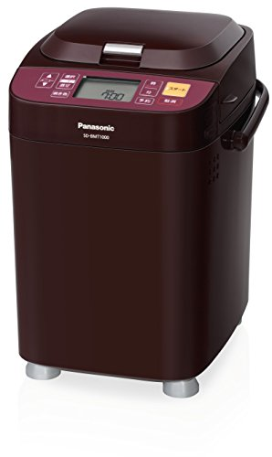 Panasonic: Home Bakery (1 Loaf Type)「Brown」 SD-BMT1000-T (Japan Import)
