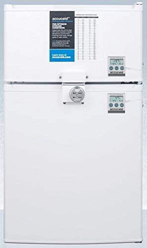 Summit CP351WLLF2PLUS2ADA 19 Inch Compact Refrigerator in White