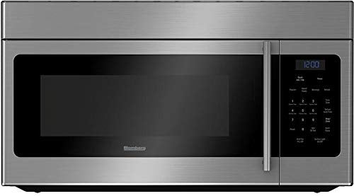 "Blomberg BOTR30100SS 30"" Over the Range Microwave Oven with 1.6 cu. ft. Capacity Auto Defrost Option 300 CFM 10 Power Levels and 3 Fan Settings: Stainless"