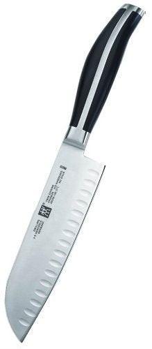 Zwilling J.A. Henckels Twin Cuisine 7-Inch Hollow-Edge Santoku