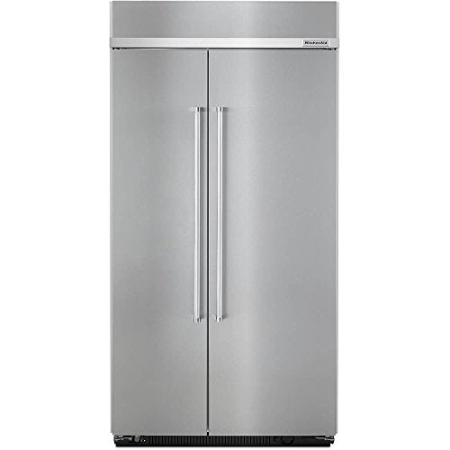 Kitchen Aid KBSN602ESS 25.5 cu. ft Built-In Side-by-Side Refrigerator with PrintShield0153 Finish