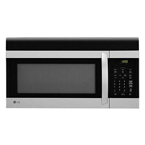 LG LMV1760ST 1.7 cu. ft. Over-the-Range Microwave Oven with EasyClean