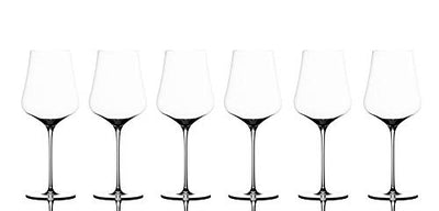 Gabriel Glas - Set of 6 - Mouth-Blown Austrian Crystal Wine Glass - Gold Edition