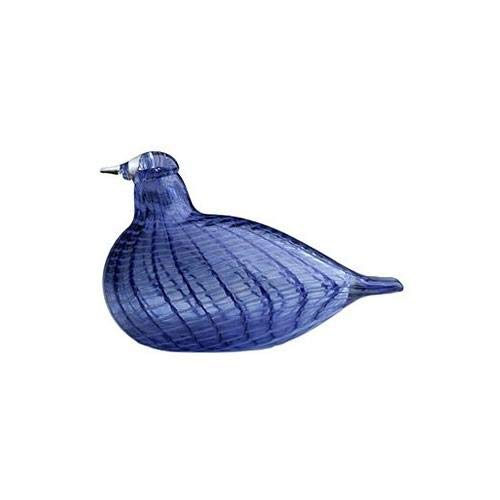 Iittala Toikka Birds Blue 120mm By 85mm