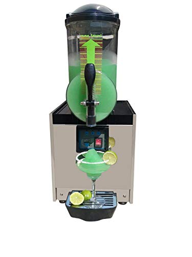 BRAVO ITALIA , 1 Bowl Margarita Machine 3.2 gallons bowl , 50 CUPS ,COMMERCIAL GRADE MACHINE , Slushie Machine, Margarita Maker , Slushie Maker , Slushy Machine