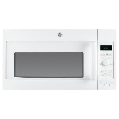 GE PVM9215DFWW Profile 2.1 Cu. Ft. White Over-the-Range Microwave