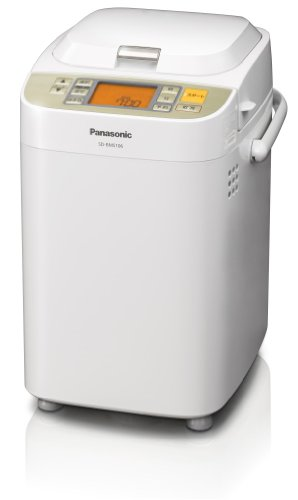 Panasonic: NEW Home bakery (One Loaf of Bread Type) SD-BMS106-NW Champagne White (Japan Import) by Panasonic NATIONAL