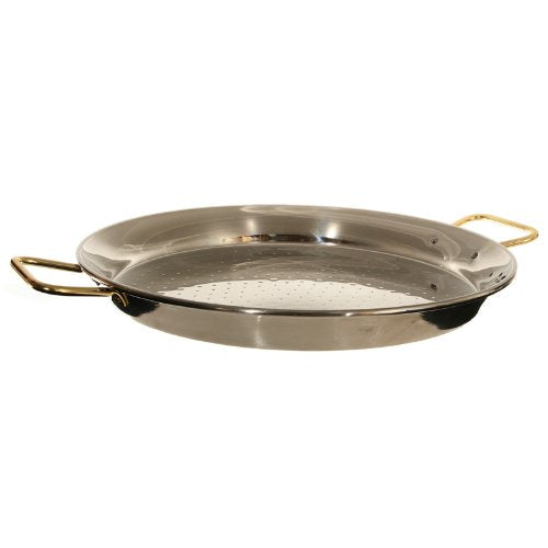 Garcima 24-Inch Stainless Steel Paella Pan, 60cm