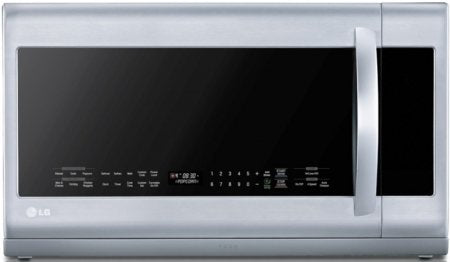 LG LMHM2237ST2.2 Cu. Ft. Stainless Steel Over-the-Range Microwave