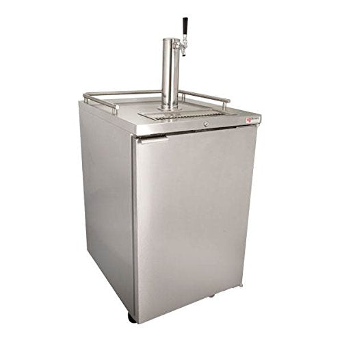 Draft Beer Kegerator Dispenser in Stainless Steel